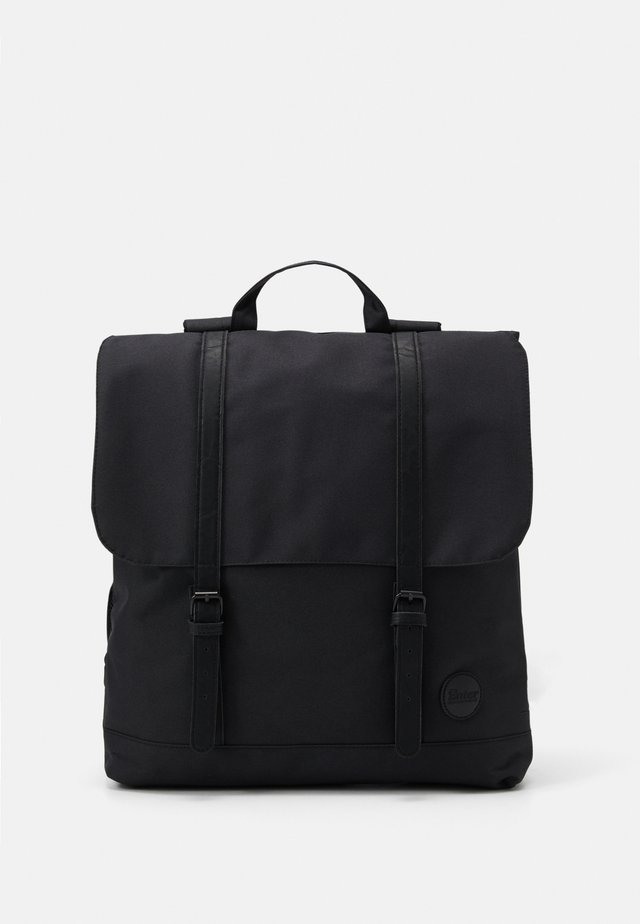 CITY BACKPACK FRONT STRAPS - Ryggsäck - black