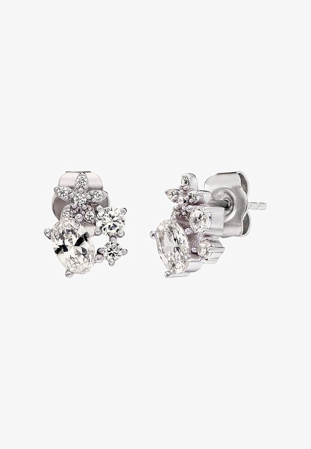 BLUMEN - Earrings - silver
