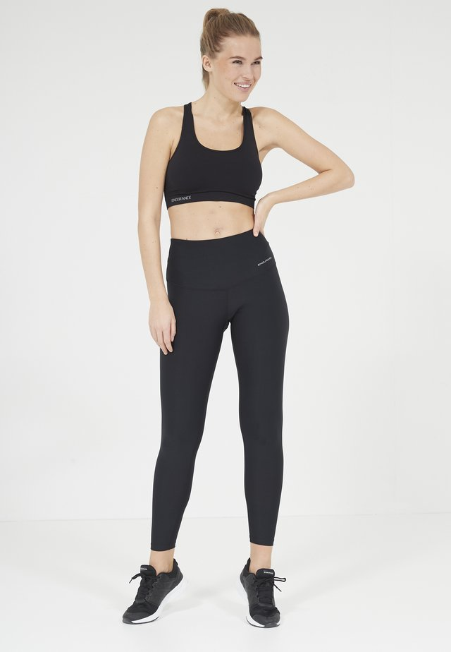 PUGLIA STRETCH - Leggings - 1001 black