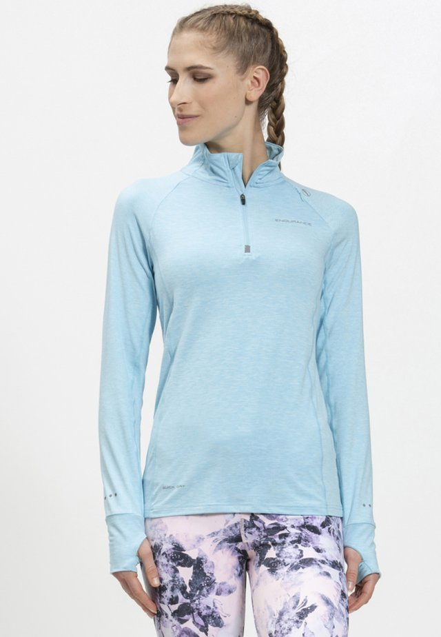 CANNA - Sports shirt - mottled light blue