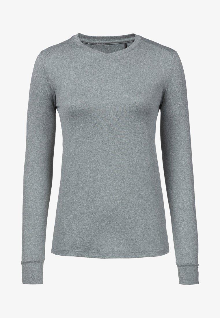 Endurance - KUSINA - Langarmshirt - mottled grey