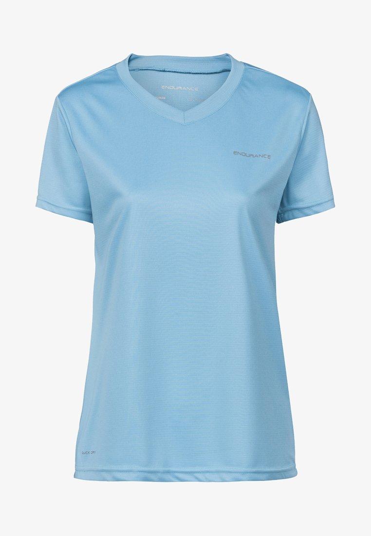 Endurance - VISTA - Basic T-shirt - blue topaz