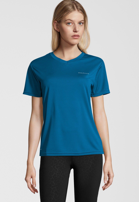 Endurance blue VISTAT basic Shirt mykonos TlK1JFc