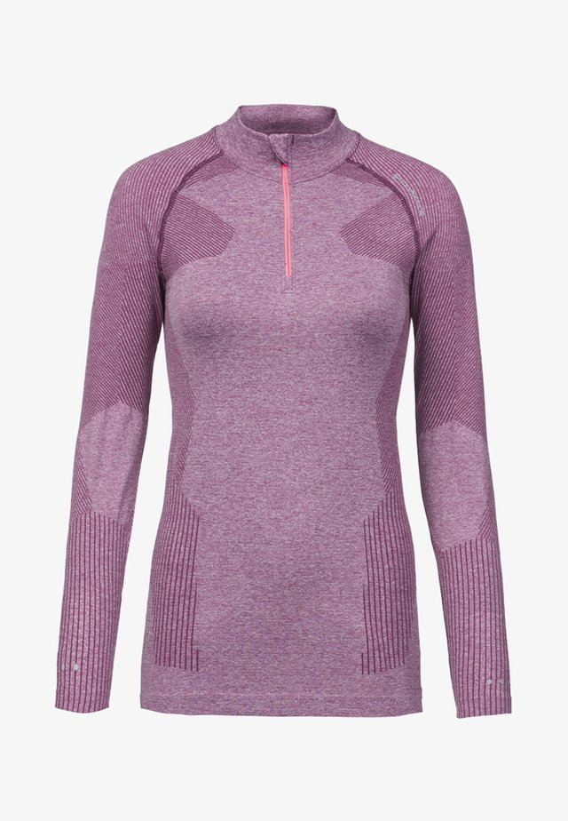 Langarmshirt - purple