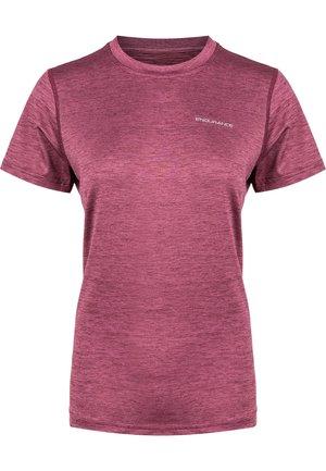 MAJE - Basic T-shirt - 4132 tawny port