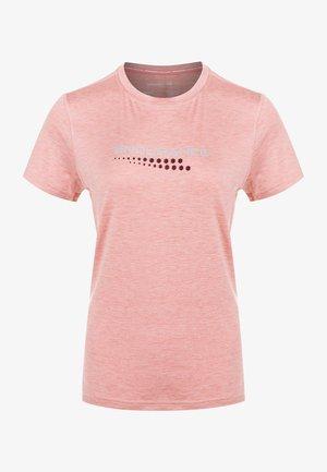 WANGE - Print T-shirt - 4110 dusty rose