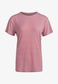 Endurance - LIZZY - Basic T-shirt - 4131 deauville mauve - 0