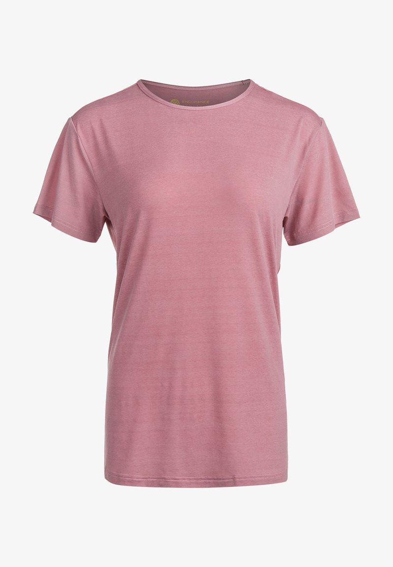 Endurance - LIZZY - Basic T-shirt - 4131 deauville mauve