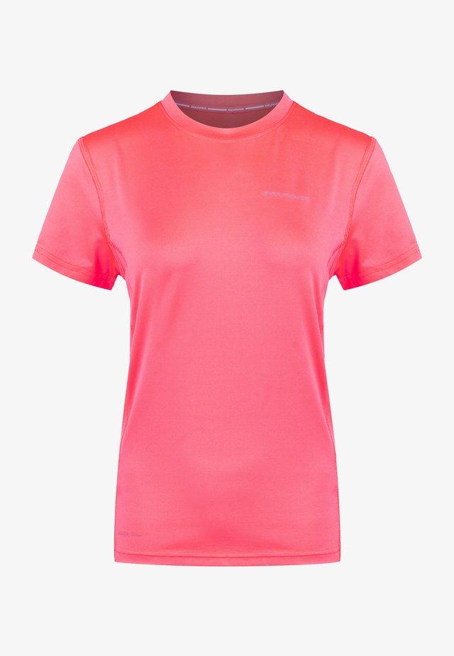 PEACH ACTIV LIGHT - Basic T-shirt - pitaya pink