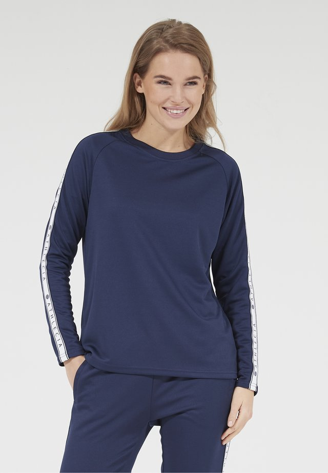 SELLA - Long sleeved top - 2101 dark sapphire