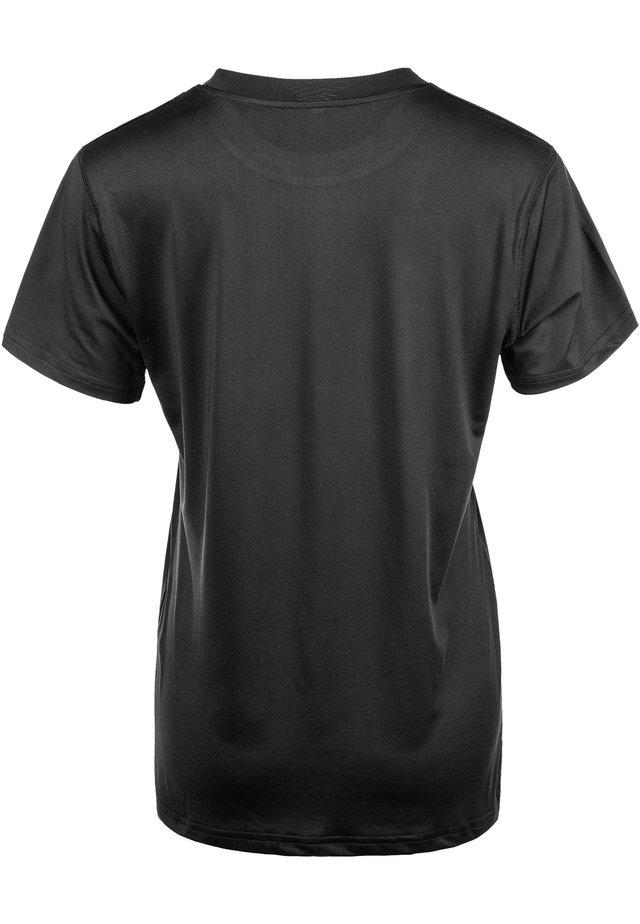 YONAN - Basic T-shirt - 1001 black