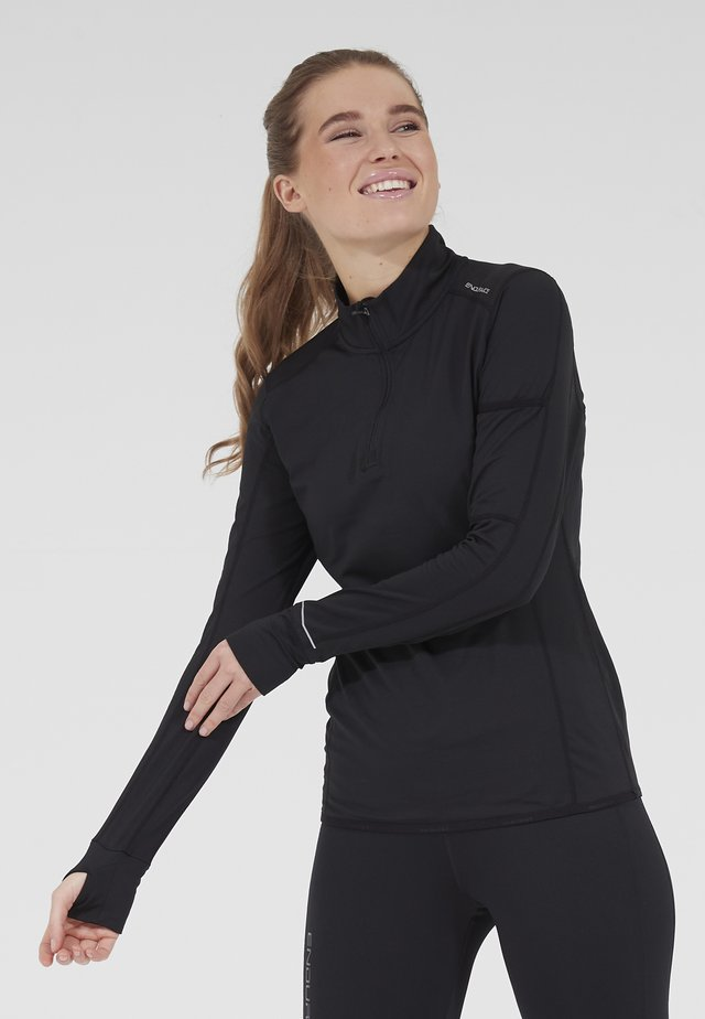 VELIKA - Sports shirt - 1001 black