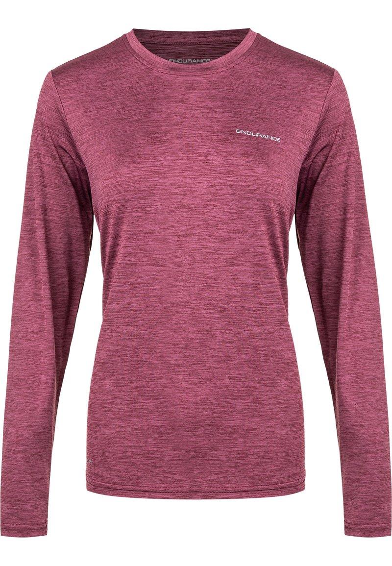 Endurance - MAJE  - Sports shirt - 4132 tawny port