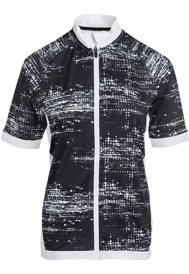 VIVIENNE W - Print T-shirt - 1001m black/white
