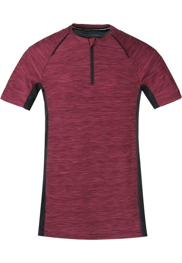 DENY W ACTIV QXL - Print T-shirt - 4132 tawny port
