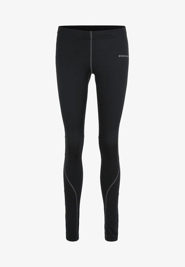 MIT REFLEKTIERENDEN ELEMENTEN - Leggings - black