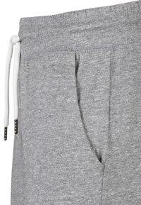 Endurance - CLYNEN MIT KORDELZUG - Tracksuit bottoms - light grey melange - 3