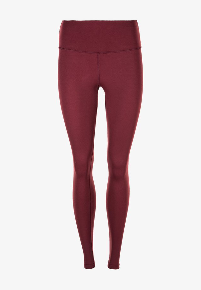 MIT LEICHTER KOMPRESSION - Leggings - 4132 tawny port
