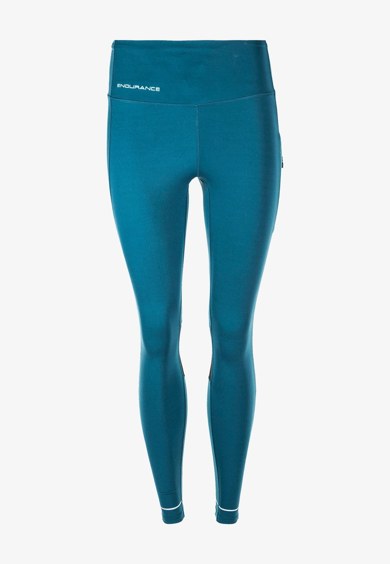 Endurance - THADEA POCKET  XQL - Leggings - teal