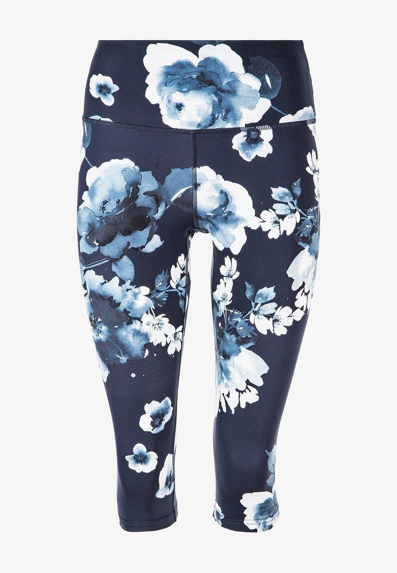 Endurance - FRANZ - 3/4 sports trousers - dark blue