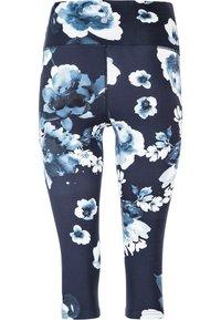 Endurance - FRANZ - 3/4 sports trousers - dark blue - 1