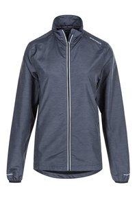 Endurance - KANIE W MELANGE - Training jacket - 1111 black melange - 0