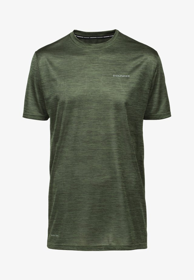MIT EIGENSCHAFT - Sports shirt - deep forest