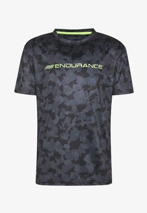 DIEN PRINTED TEE - T-shirt imprimé - black