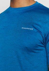 Endurance - MELANGE TEE - T-shirt - bas - imperial blue - 4