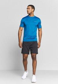 Endurance - MELANGE TEE - T-shirt - bas - imperial blue - 1