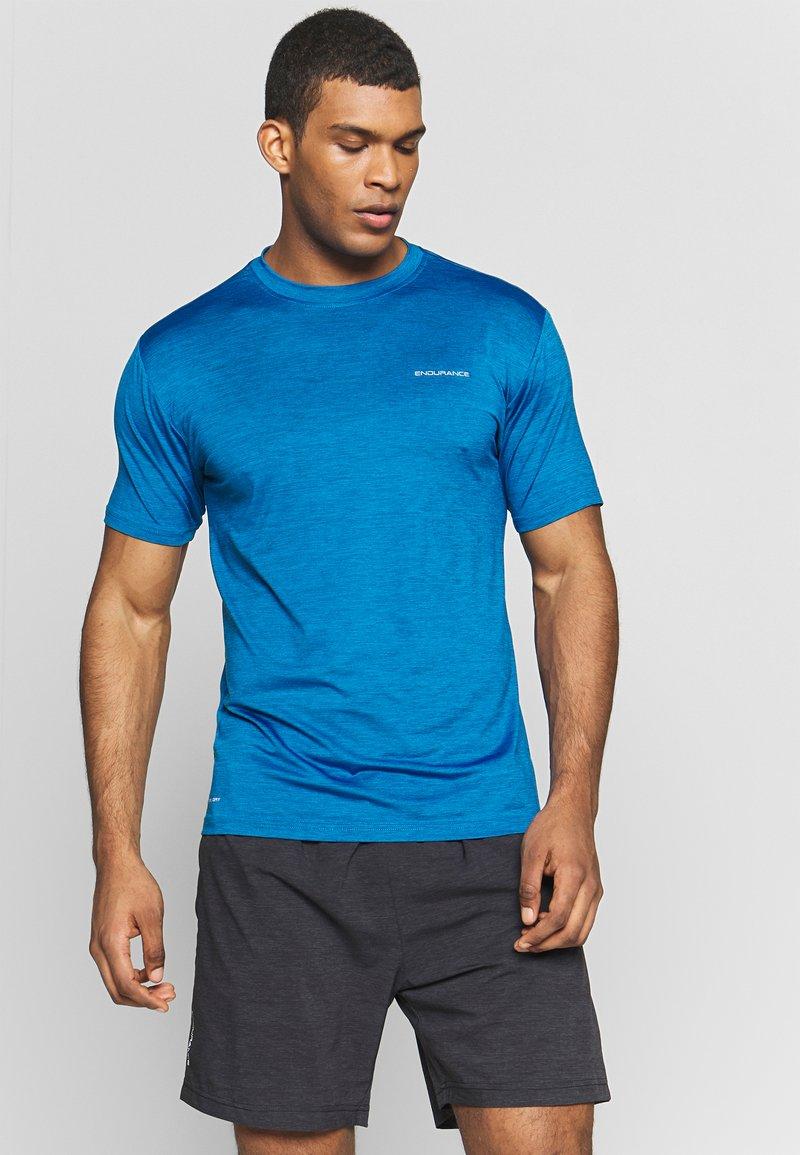 Endurance - MELANGE TEE - T-shirt - bas - imperial blue