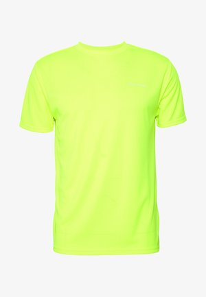 VERNON PERFORMANCE TEE - T-Shirt basic - safety yellow