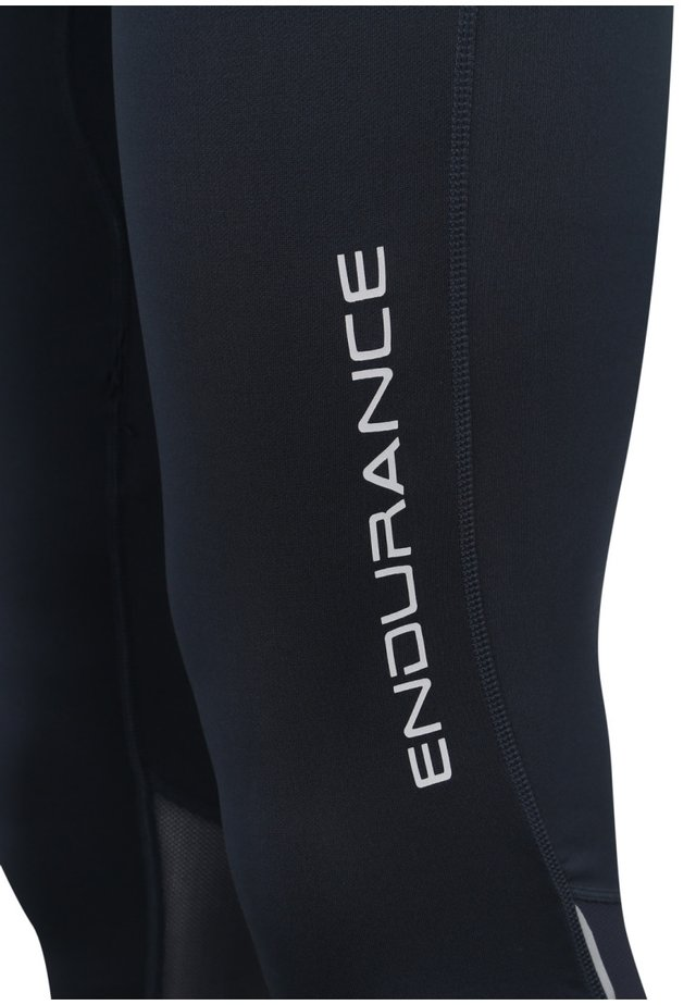 MIT REFLEKTIERENDEN DETAILS - Leggings - dark blue