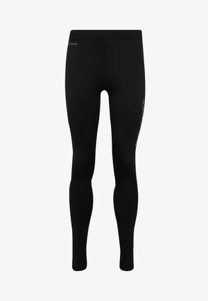 MIT REFLEKTIERENDEN DETAILS - Leggings - black