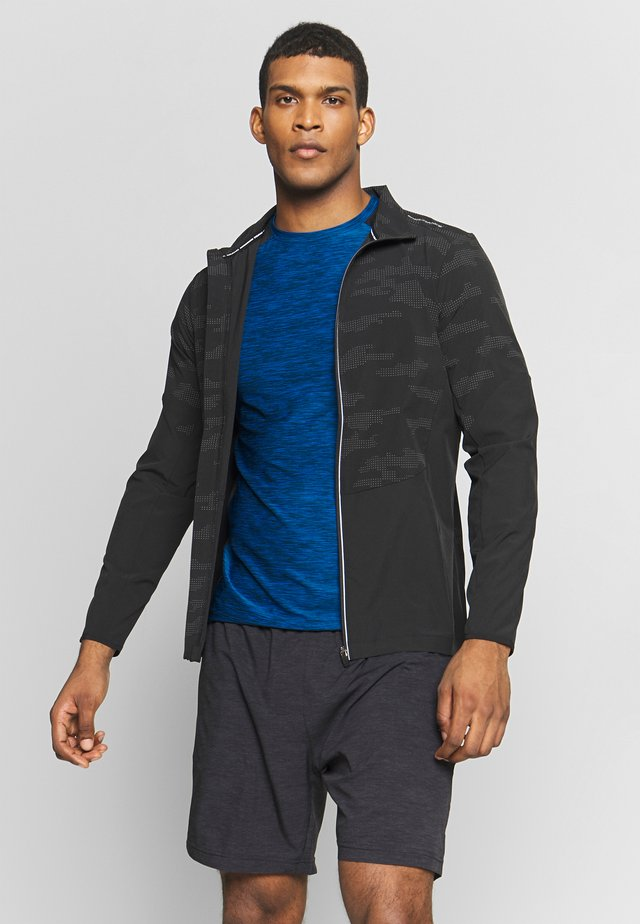 DOFLAN REFLECTIVE 4-WAY STRETCH JACKET - Löparjacka - black