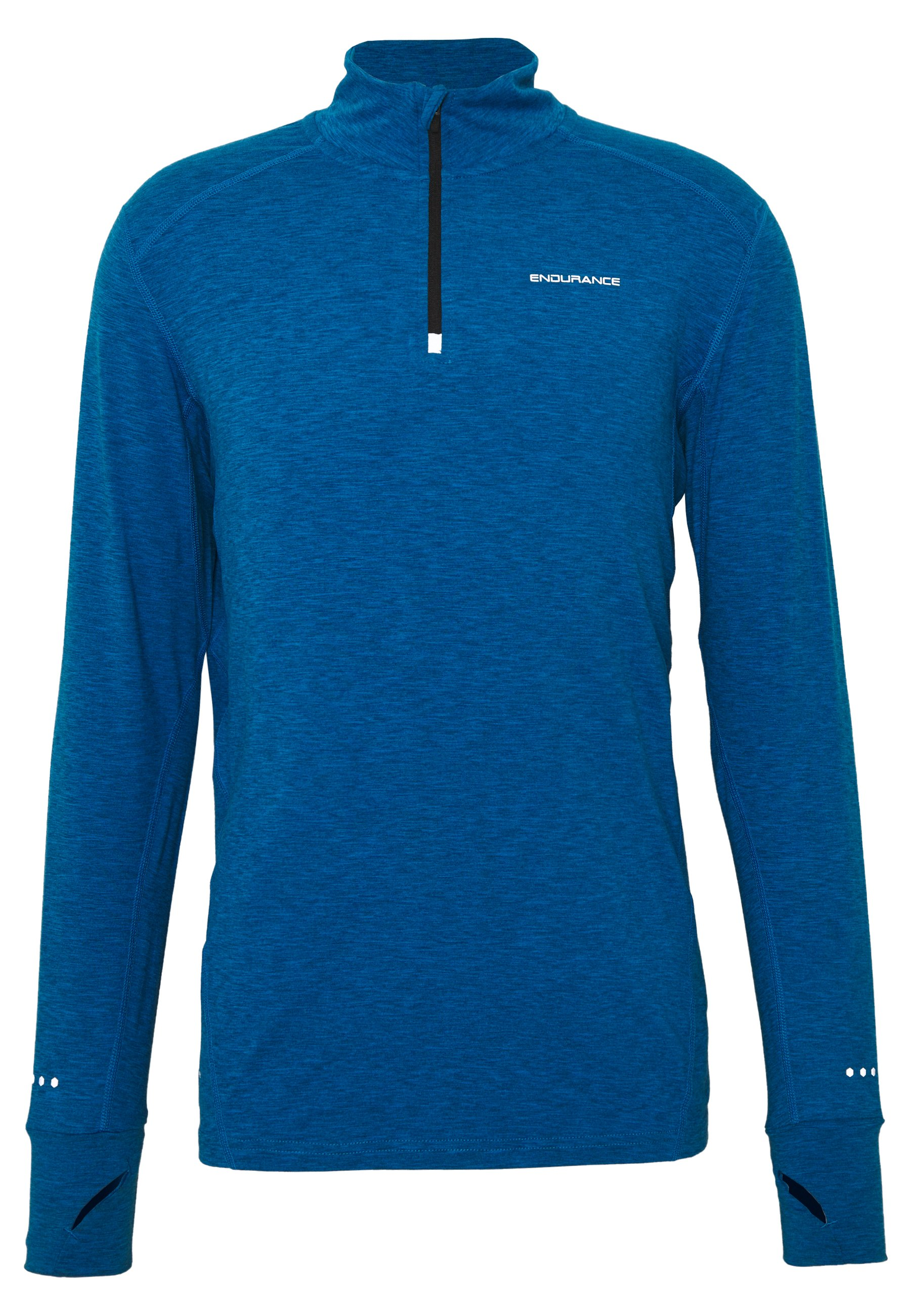 Endurance ABBAS PRINTED MIDLAYER - Sports shirt - imperial blue