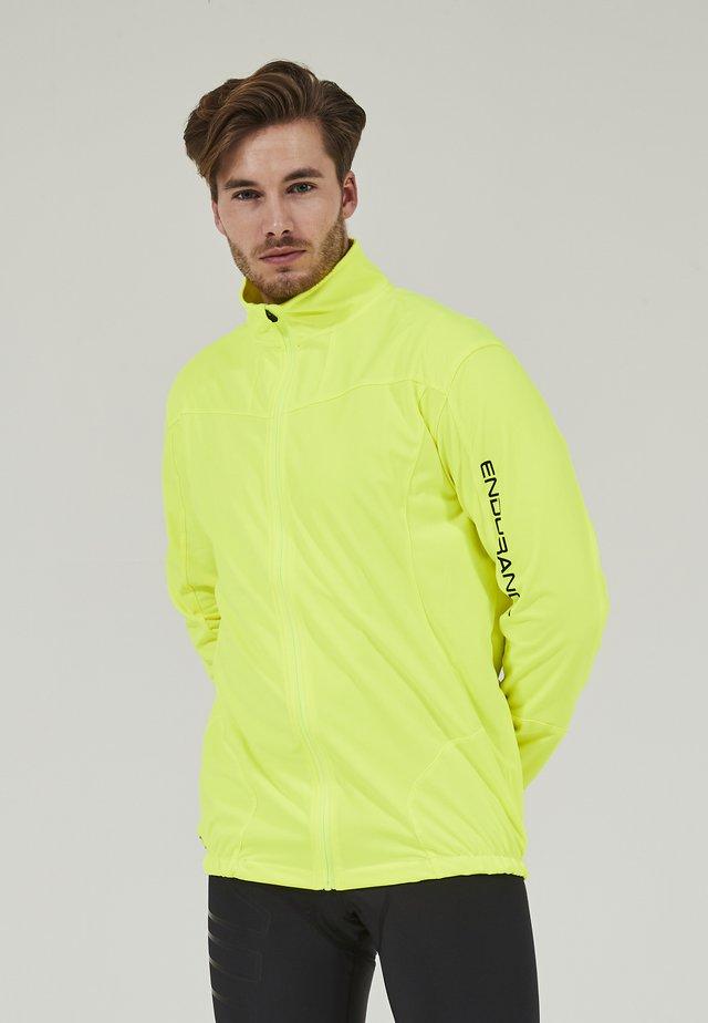 CLUSON M MEMBRANE CYCLING - Sweatshirt - 5001 safety yellow