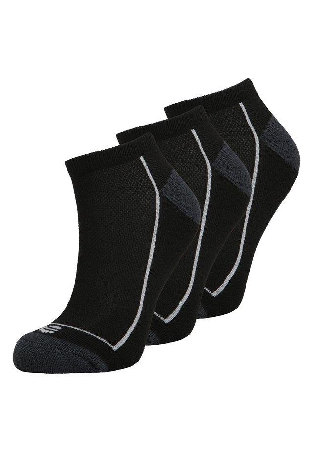 3 PACK PERFORMANCE BORON LOW CUT - Socken - schwarz