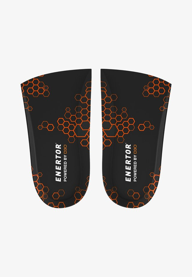 SHOCK ABSORTING 3/4 LENGTH INSOLE - Insole - black