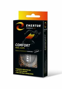 Enertor - SHOCK ABSORTING HEEL CUP - Insole - black - 2