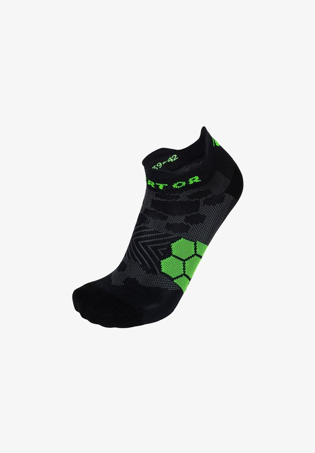 ANTI-BLISTER RUN SOCKS - Trainer socks - black