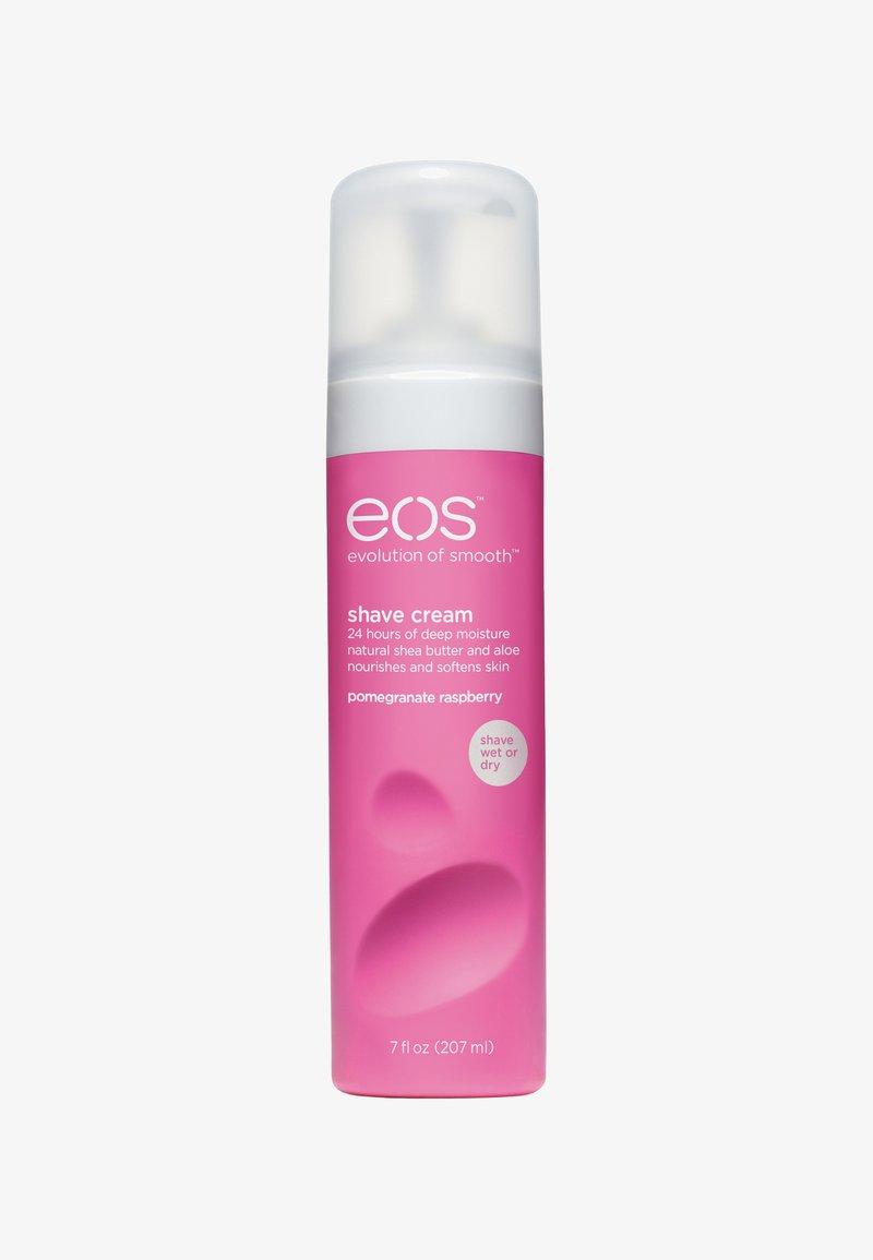 eos - SHAVING CREAM 207ML - Hair removal - pomegranate raspberry