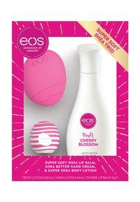 eos - TRIO SET HAND LIP BODY - PINK EDITION - Set pour le bain et le corps - - - 1