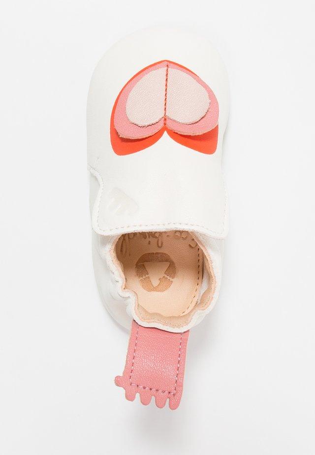 BLUBLU COEUR - První boty - blanc/goya