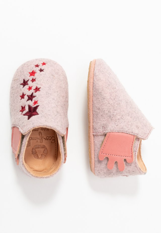 DOUVEL COMETE - First shoes - rose/rosy