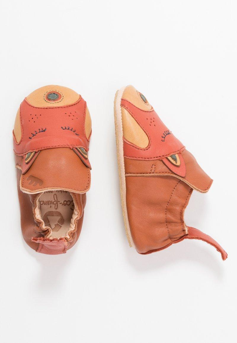 Easy Peasy - BLUBLU PANDA - First shoes - chataigne/brique