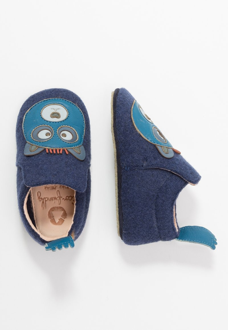 Easy Peasy - DOUBLU OURS - First shoes - marine