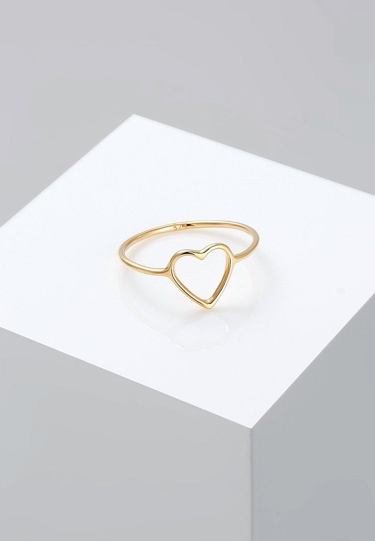 Elli - HERZ - Ring - gold-coloured