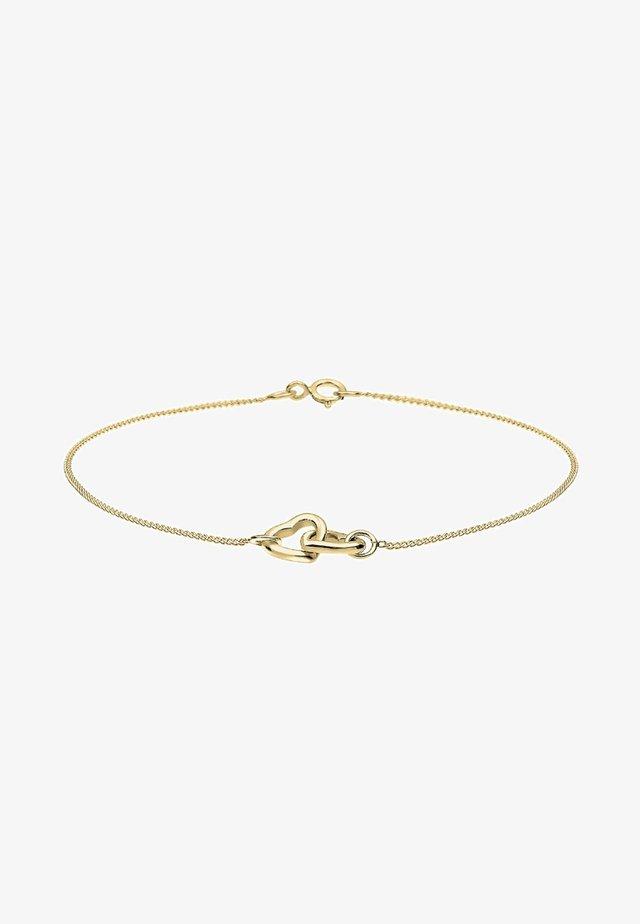 HERZ - Armband - gold