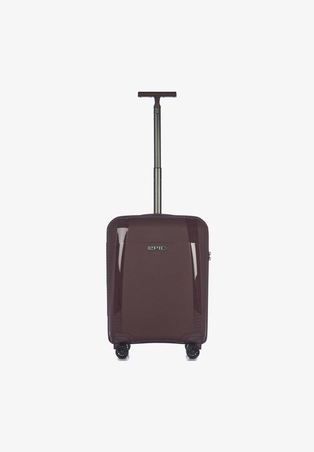 Valise à roulettes - mahoganyred